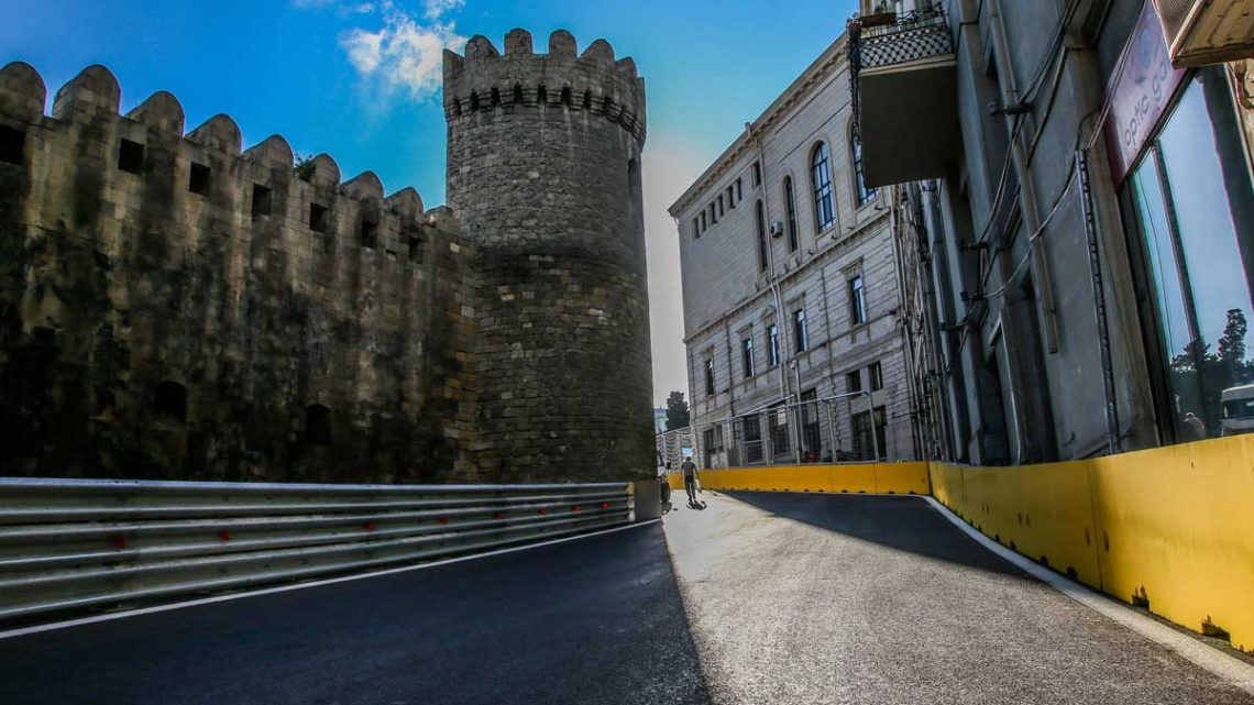 Changes made to infamous Turn 8 at the Azerbaijan Grand Prix in Baku