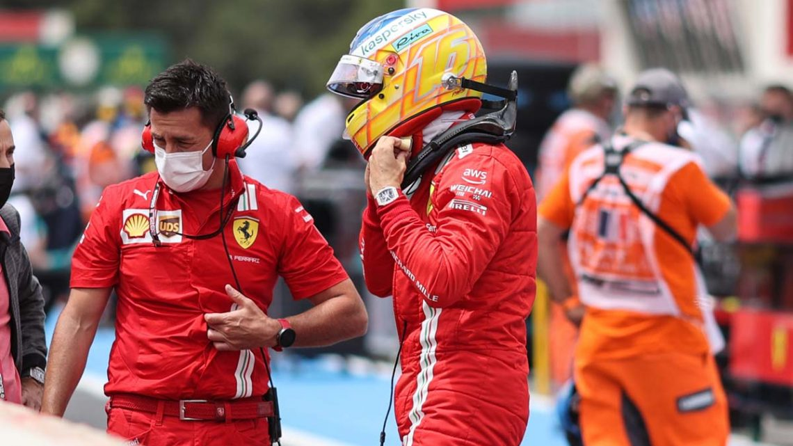 Charles Leclerc fears more Ferrari tyre woes after lowly P16 finish