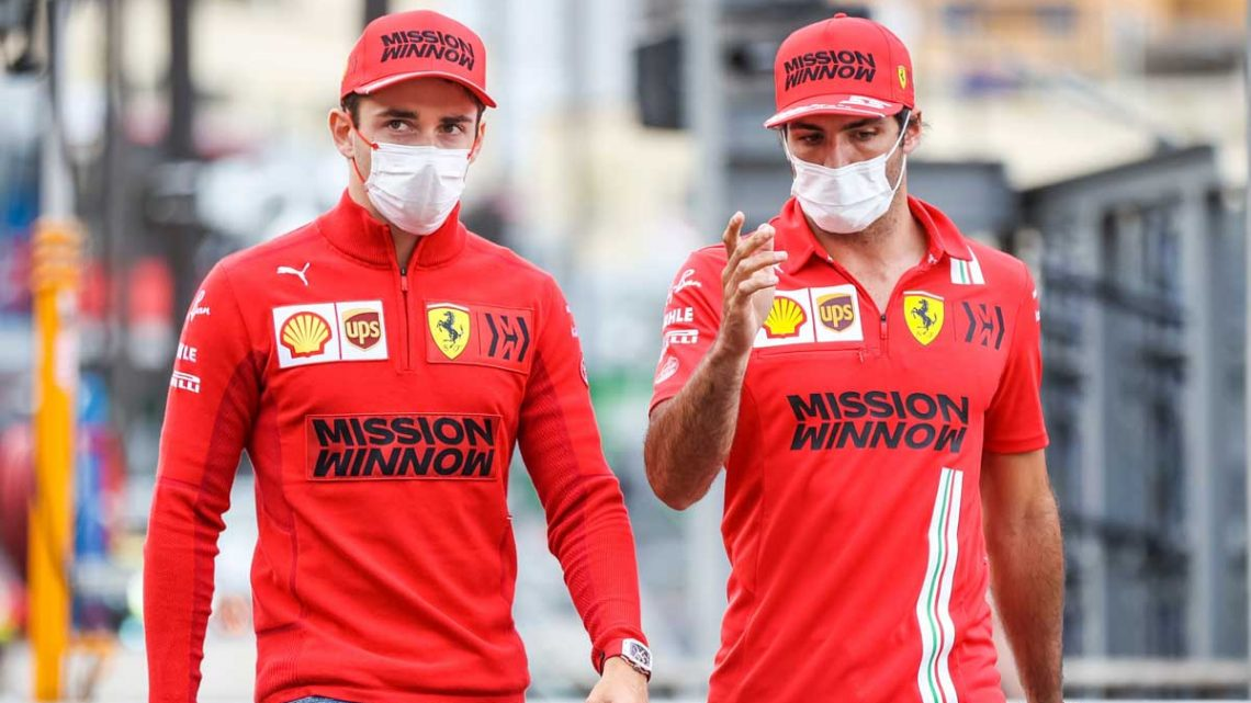 Charles Leclerc has 'different' rapport with Carlos Sainz to Vettel   Planet F1