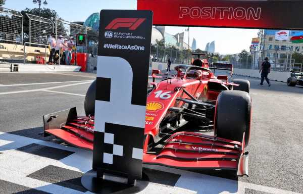 Charles Leclerc took Baku pole with 'quite a sh*t lap' | Planet F1