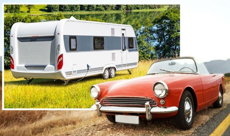 Classic car owners must follow different rules for towing caravans or risk breaking laws
