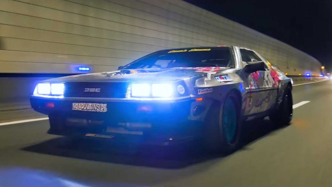 Custom DeLorean Has V8 Engine In Front For Spacetime Warping Fun