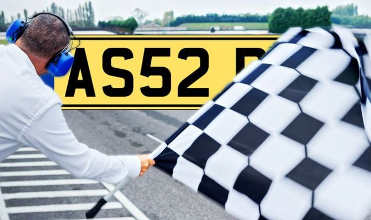 DVLA set to sell Formula One and Lewis Hamilton number plates from £350 at latest auction