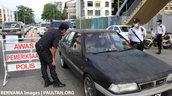 FMCO: Police remind public of two-to-a-car rule – three allowed for reasons of medical care and emergencies – paultan.org