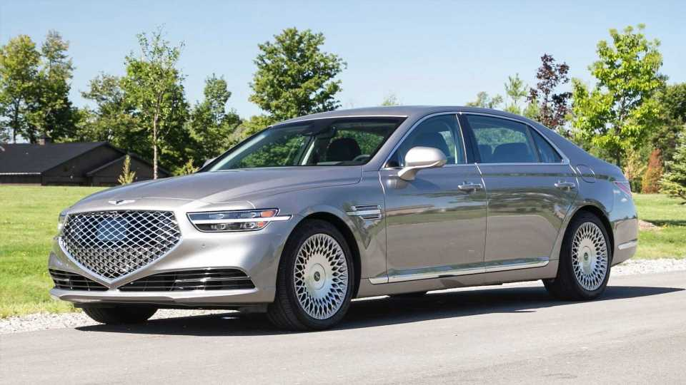 Genesis G90 Reportedly Losing V8 Option In 2022