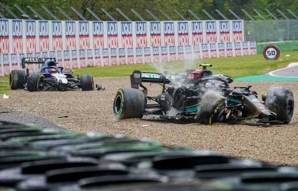 George Russell's 'tough love' from Wolff after Imola crash | Planet F1