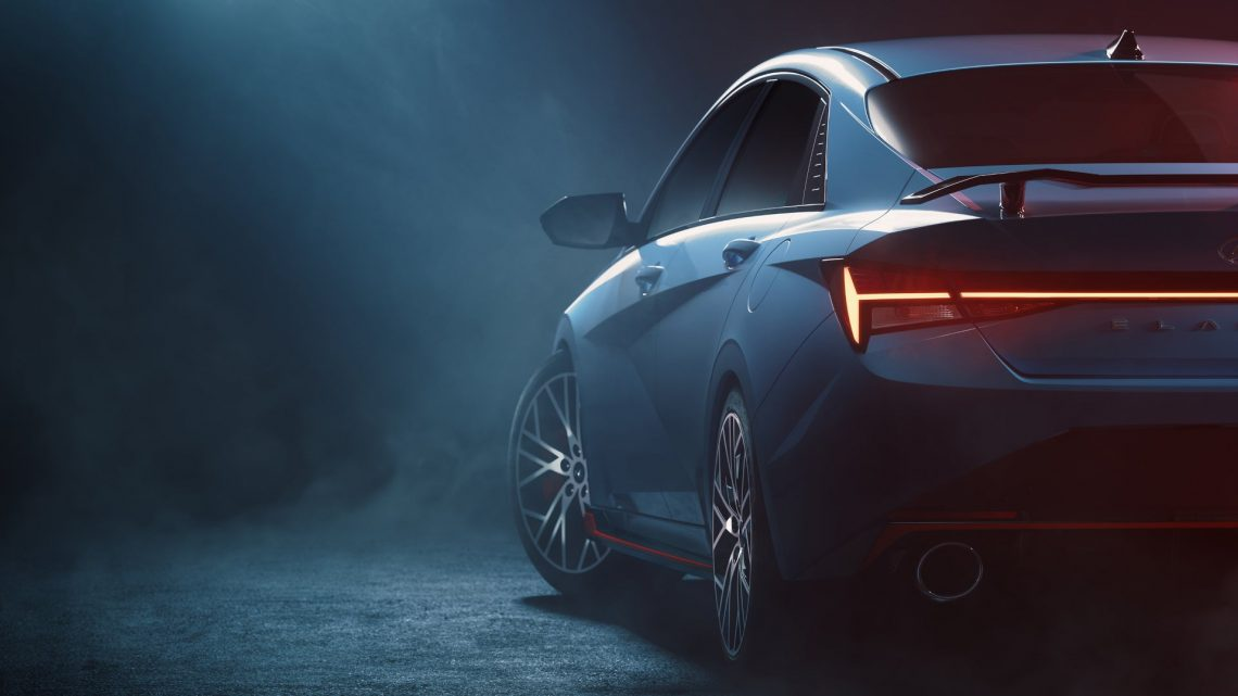 Hyundai Shows First Official Elantra N Images