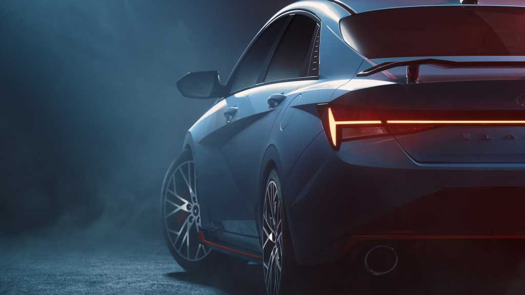 Hyundai's Elantra N Looks Ready to Take on the Civic Type R in Teaser Pics