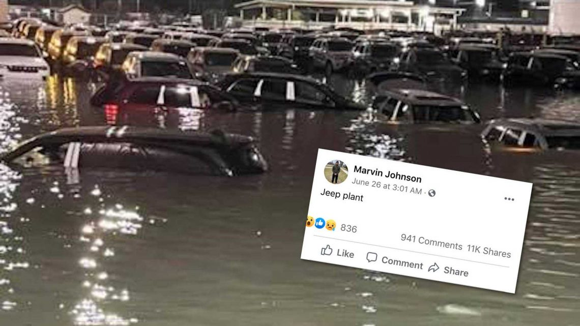 Jeep, Ford Production Washed Out After Wicked Storms Rock Detroit
