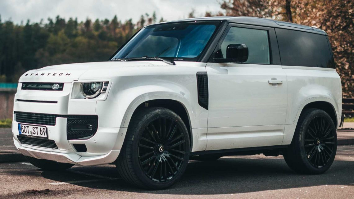 Land Rover Defender By Startech Gets Sporty Body, Massive Wheels