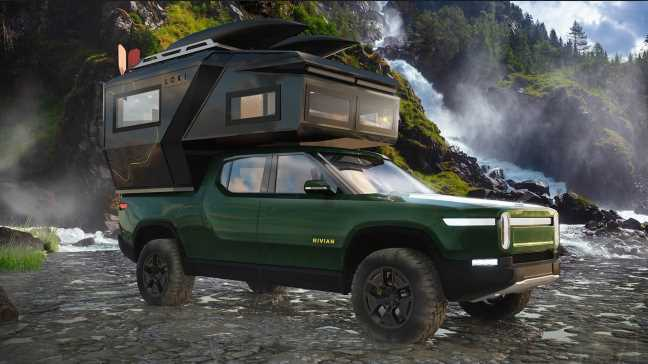Loki Basecamp's Cybertruck and R1T Campers Look Insanely Cool