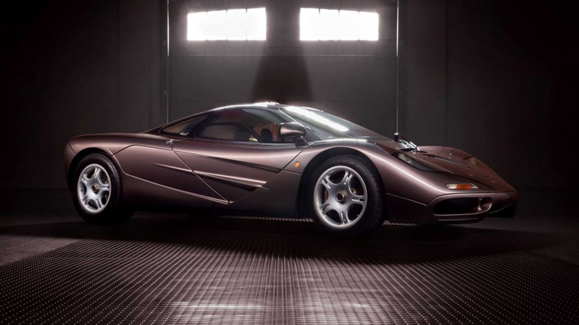 McLaren F1 With Just 241 Miles Could Bring Over $15M At Auction