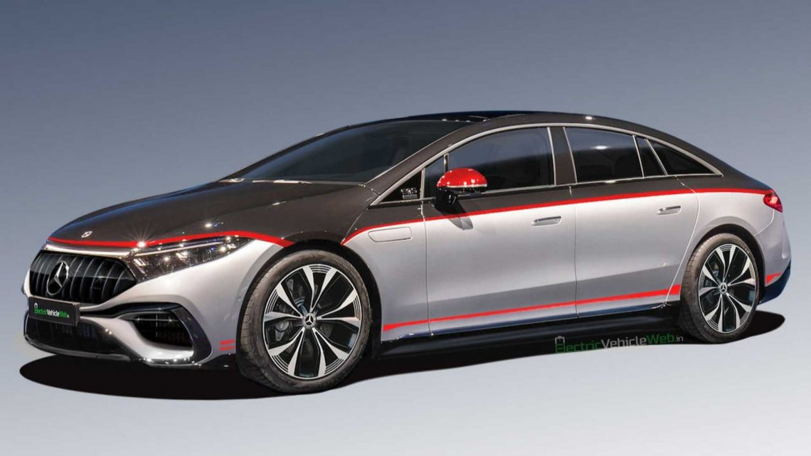 Mercedes-AMG EQS Electric Sedan Rendered In Edition 1 Guise