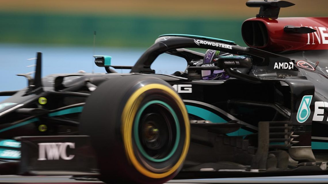 Mercedes' French defeat due to strategy model defect
