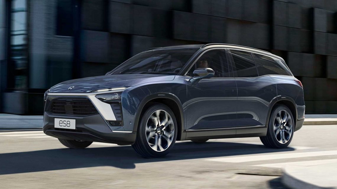 NIO ES8 Is Officially Approved For Sale In Europe