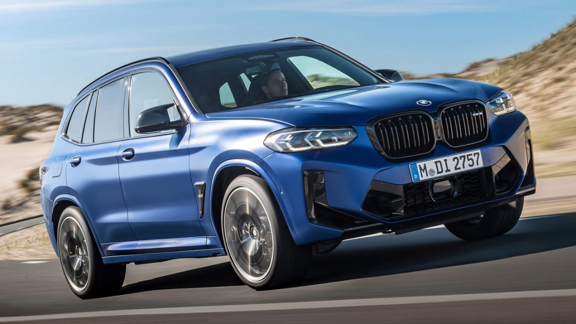 New 2021 BMW X3 M and BMW X4 M blast in with 503bhp