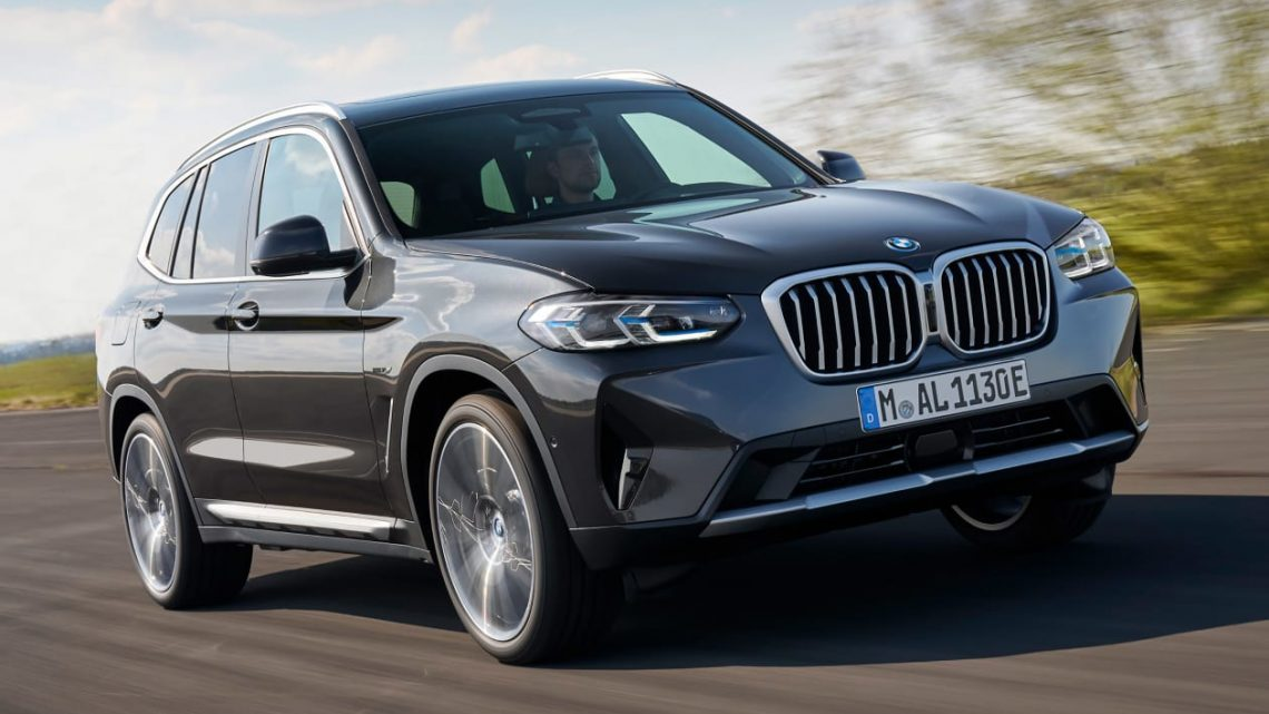 New 2021 BMW X3 SUV facelift adds sportier new look