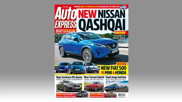 New Nissan Qashqai driven in this week's Auto Express
