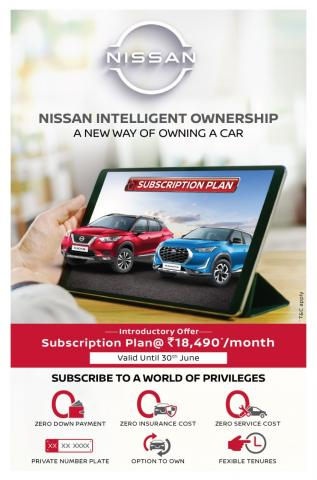 Nissan Magnite, Datsun Redi-GO offered on subscription basis