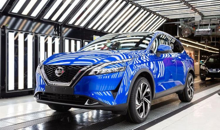 'One in five vehicles made in the UK is a Qashqai' – Nissan speaks of pride in UK factory