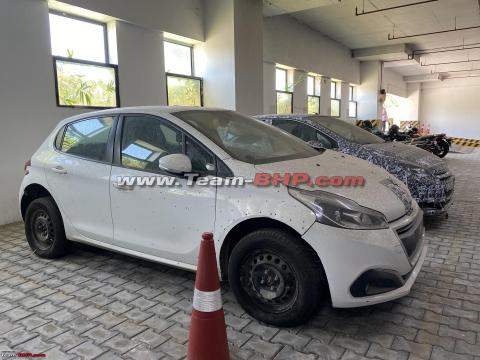 Peugeot 208 hatchback spotted in India yet again
