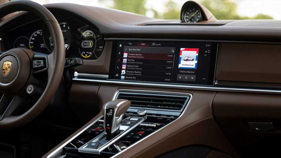 Porsche's New Infotainment System Might Play Background Music That Adapts to How You're Driving