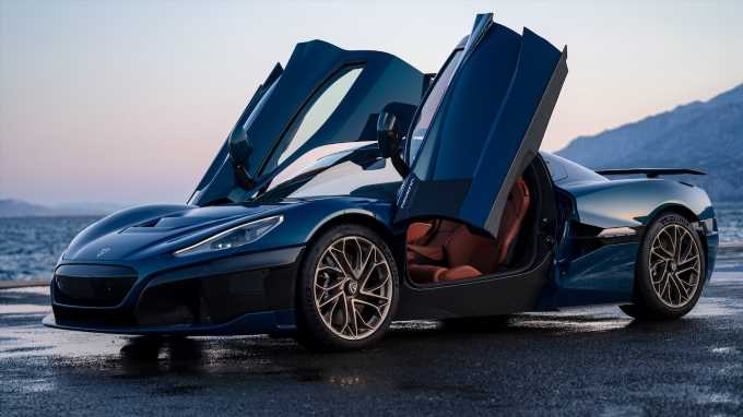 Rimac Nevera First Look: The C_Two Becomes a 1,914-HP, 258-MPH Electric Hypercar