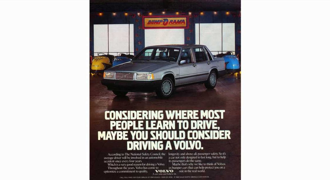 Since Driving Is Crashing, You Need a 1990 Volvo 740