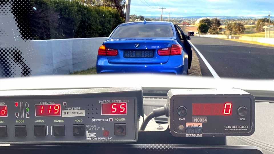 Speeding BMW Driver Incorrectly Assumes Mt. Panorama Is a Full-Time Racetrack