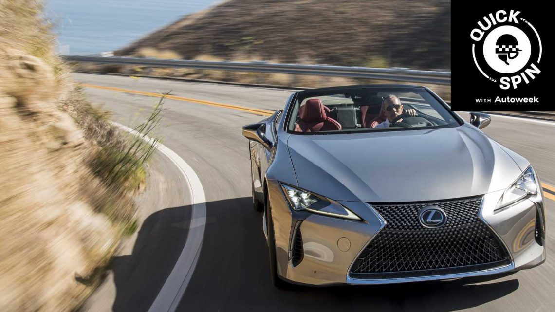 The 2021 Lexus LC500 Convertible Is a Road-Going Concept
