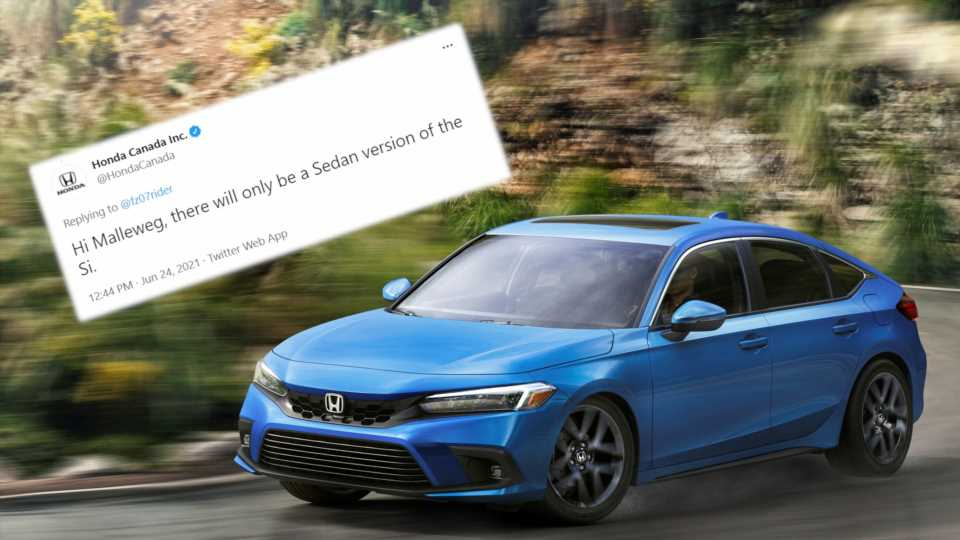 The 2022 Civic Si Might Only Live on as a Sedan