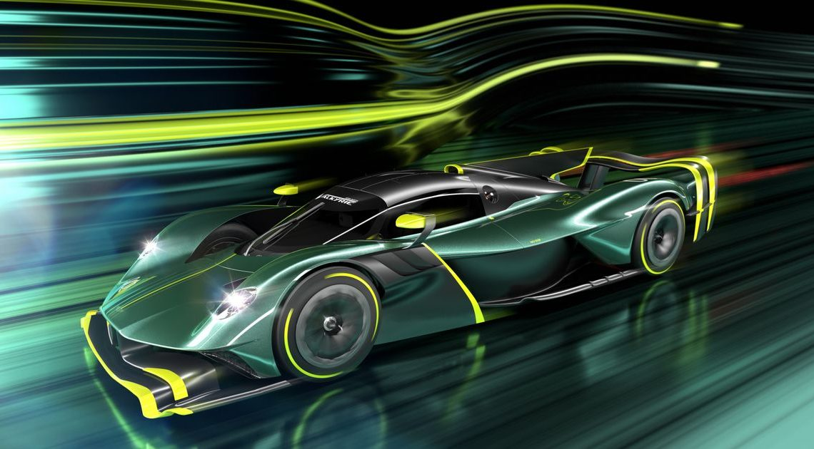 The Aston Martin Valkyrie AMR Pro Is A Cancelled Le Mans Car For The (Rich) Public