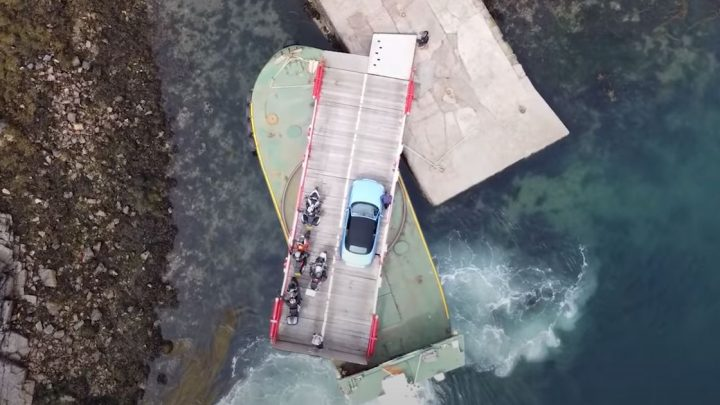 This Turntable Car Ferry Is The Last Of Its Kind And A Thing Of Engineering Beauty