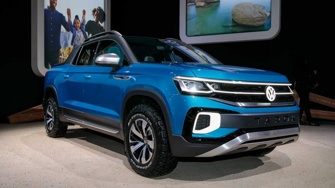 VW Rules Out Compact Truck To Fight Maverick And Santa Cruz