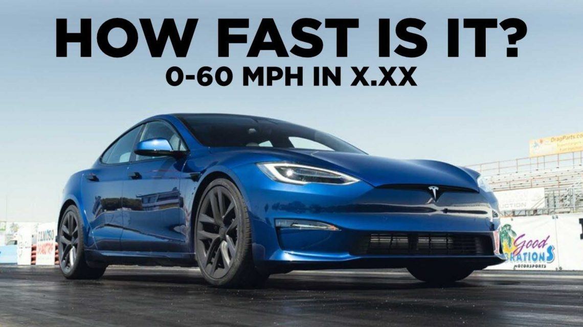 Watch How Quick The Tesla Model S Plaid Truly Is