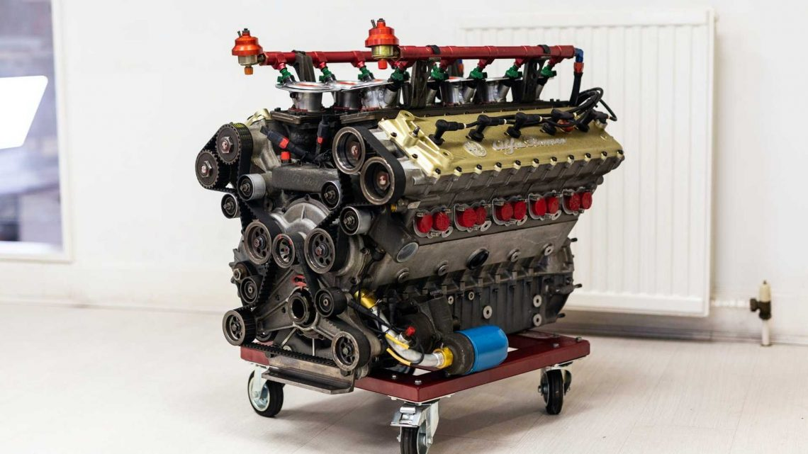 You Have Just Two Days To Buy This Alfa Romeo V10 F1 Engine