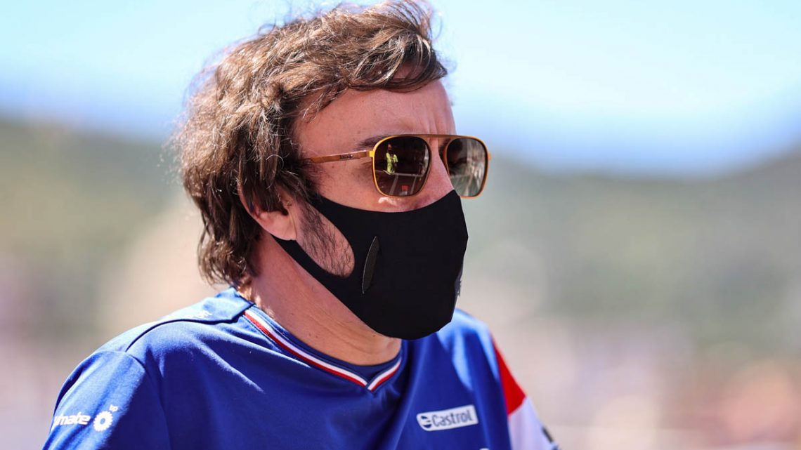 fernando Alonso happier than expected to be back in F1