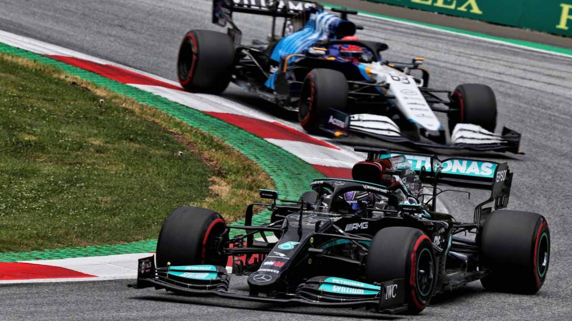 'George Russell won't join Mercedes while Lewis Hamilton's there'