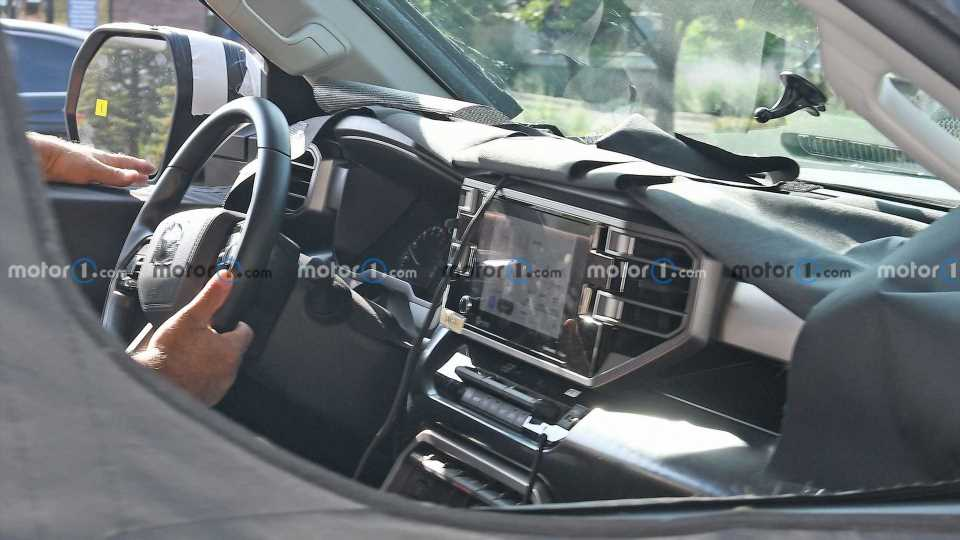 2022 Toyota Tundra Interior Details Spied For The First Time