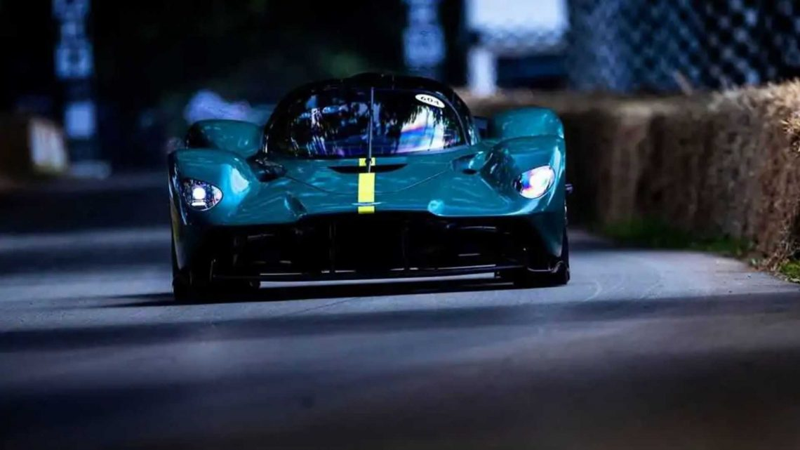 Aston Martin Valkyrie's Goodwood Debut Spoiled By A $7 Part