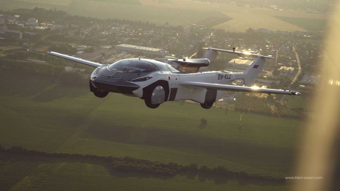 BMW-Powered AirCar Completes First Inter-City Flight In Slovakia