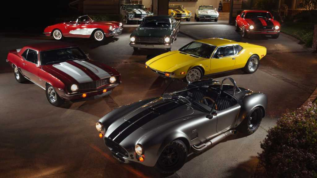 Classic Car Collection: This Enthusiast Has Plenty to Choose From