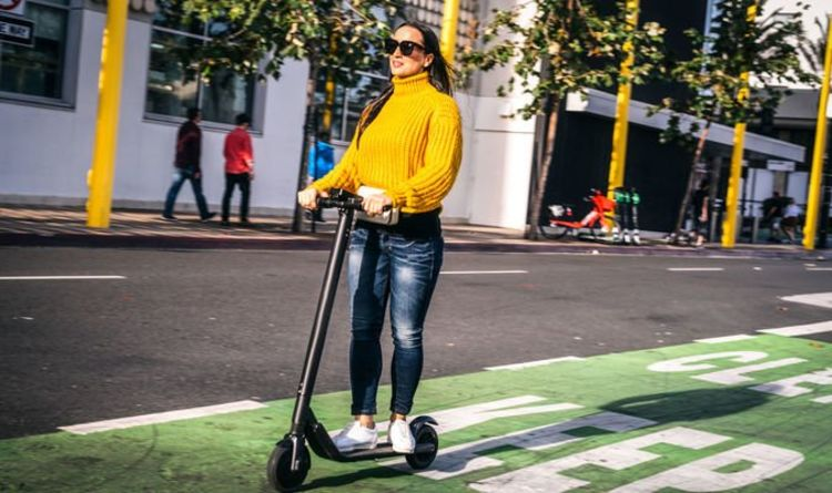 Cycle lanes could be widened to ensure electric scooters do not use busy roads