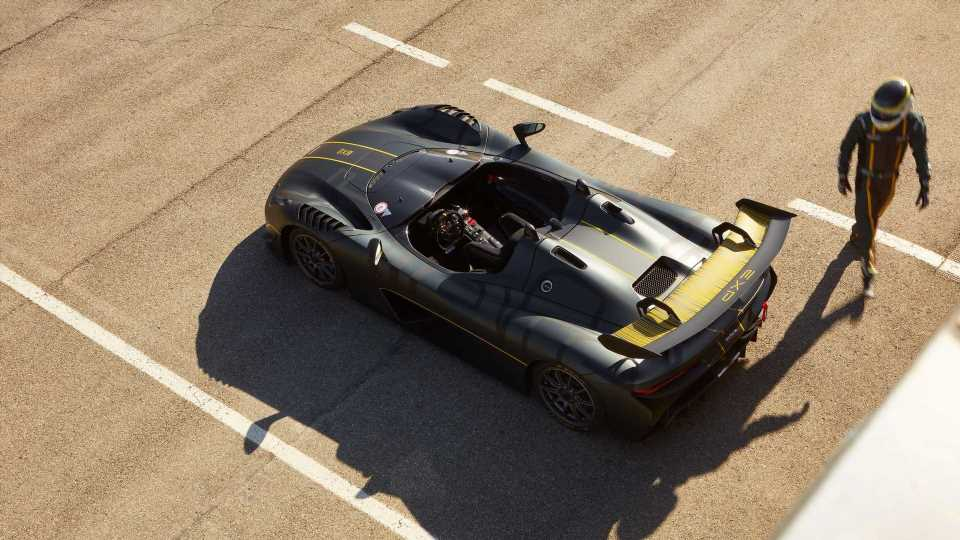 Dallara EXP Debuts As Roofless Track Toy With Uprated Focus RS Engine