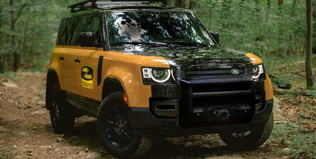 Defender Trophy Edition Pays Tribute to Land Rover\u2019s Legacy