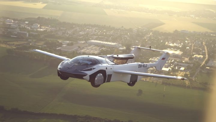 Flying Cars Don't Exist, But This Prototype Is Awfully Close