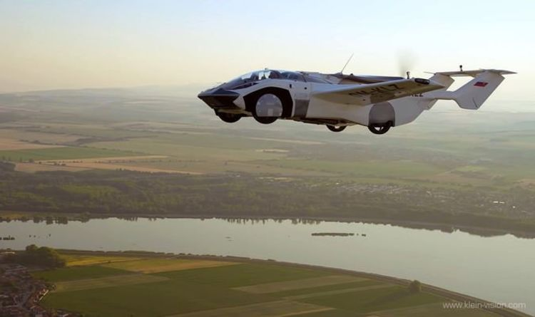Flying car with BMW engine completes first intercity flight