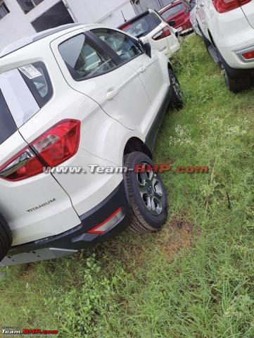 Ford EcoSport Titanium petrol now gets alloys from S variant