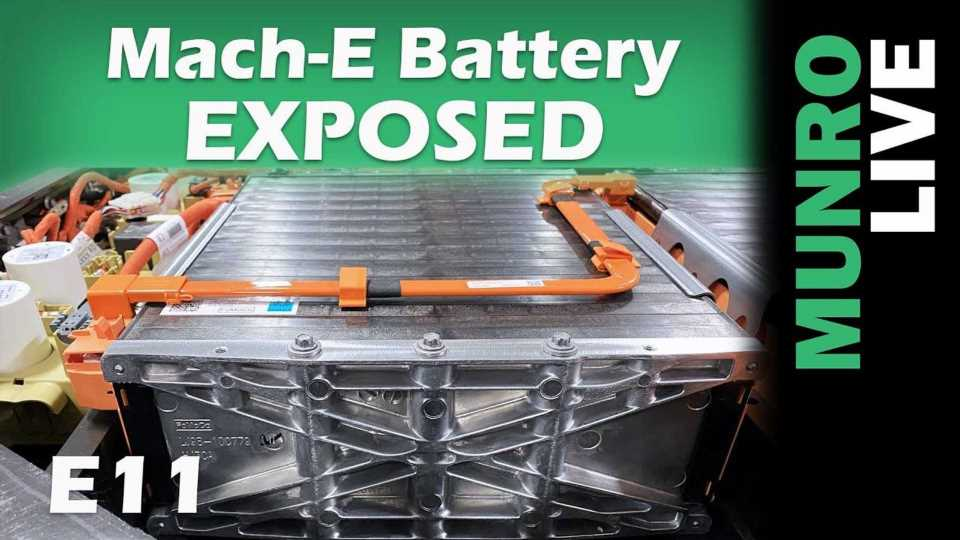 Ford Mustang Mach-E Battery Exposed