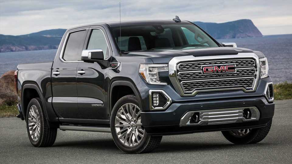 GMC Hints At Electric Full-Size Electric Pickup